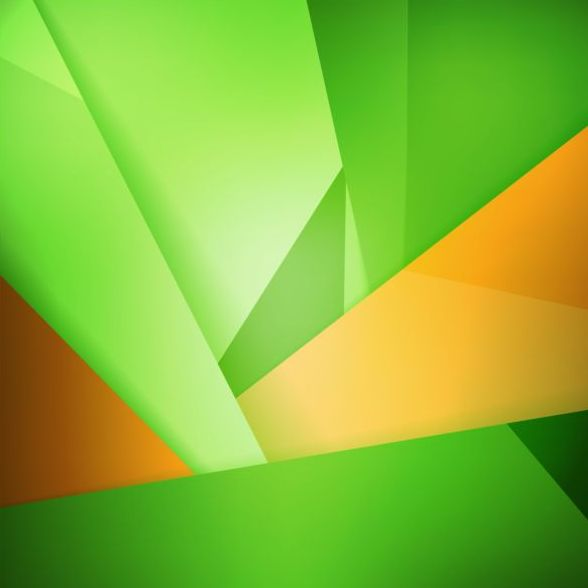 Abstract green background art vectors 08