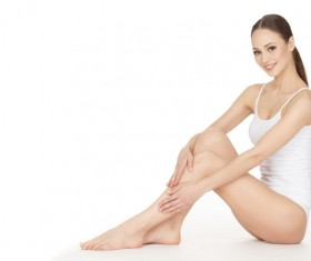 Beautiful healthy woman Stock Photo 02
