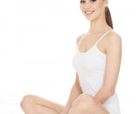Beautiful healthy woman Stock Photo 05