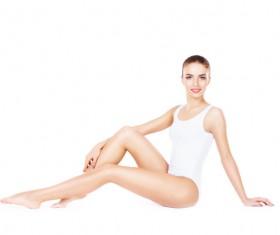 Beautiful healthy woman Stock Photo 17