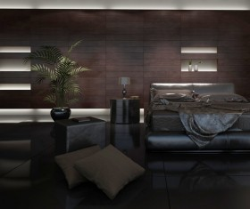Bedroom lighting effects show HD picture