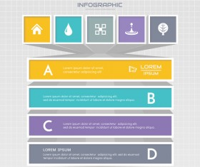 Business infographic banner vector template 06