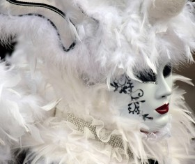 Carnival costumes and masks Stock Photo 01