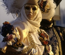 Carnival costumes and masks Stock Photo 02