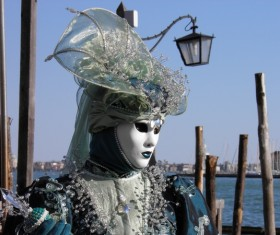 Carnival costumes and masks Stock Photo 04