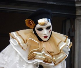 Carnival costumes and masks Stock Photo 07