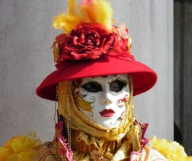 Carnival costumes and masks Stock Photo 11