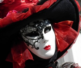 Carnival costumes and masks Stock Photo 14