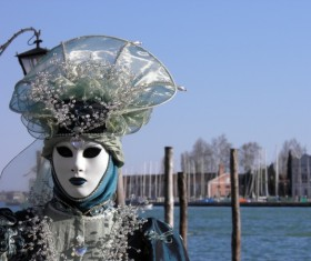 Carnival costumes and masks Stock Photo 15
