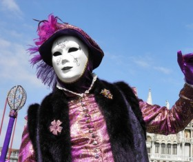 Carnival costumes and masks Stock Photo 17