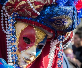 Carnival costumes and masks Stock Photo 19