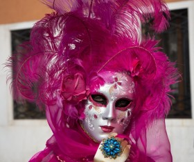 Carnival costumes and masks Stock Photo 22