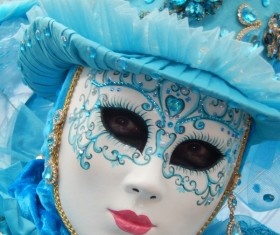 Carnival costumes and masks Stock Photo 23