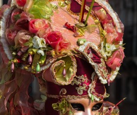 Carnival costumes and masks Stock Photo 24