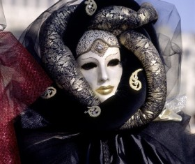 Carnival costumes and masks Stock Photo 25