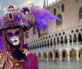 Carnival costumes and masks Stock Photo 27