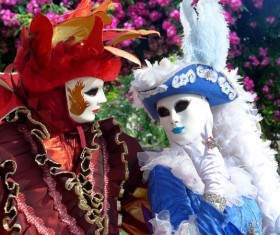 Carnival costumes and masks Stock Photo 28
