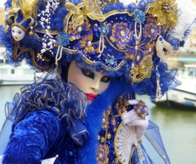 Carnival costumes and masks Stock Photo 29