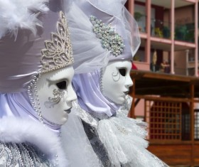 Carnival costumes and masks Stock Photo 30