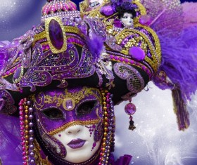 Carnival costumes and masks Stock Photo 31
