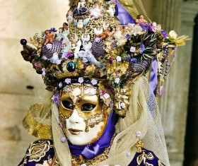 Carnival costumes and masks Stock Photo 33