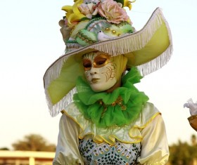 Carnival costumes and masks Stock Photo 34