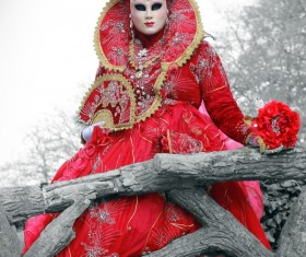 Carnival costumes and masks Stock Photo 35
