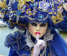 Carnival costumes and masks Stock Photo 36