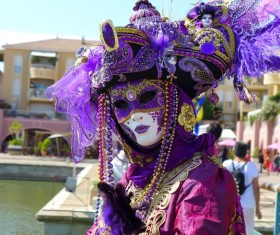 Carnival costumes and masks Stock Photo 38