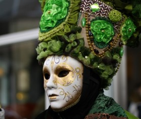 Carnival costumes and masks Stock Photo 39