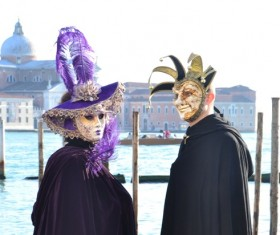Carnival costumes and masks Stock Photo 41