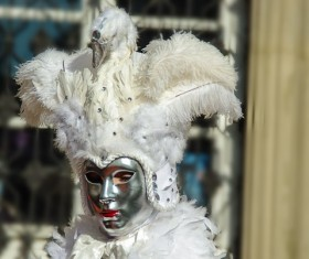 Carnival costumes and masks Stock Photo 43