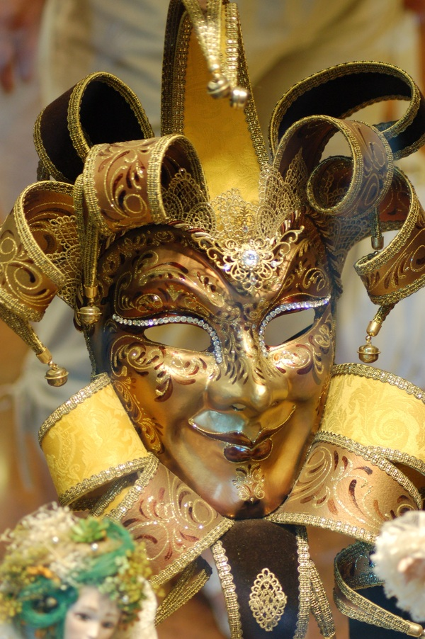 Carnival mask Stock Photo 01