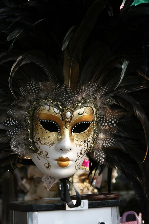 Carnival mask Stock Photo 02