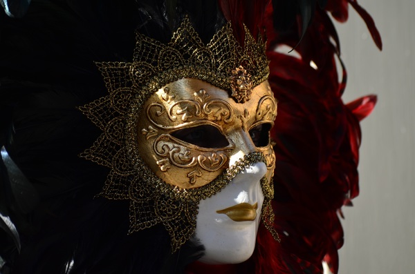Carnival mask Stock Photo 04