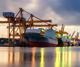 Carriage of goods by sea Stock Photo