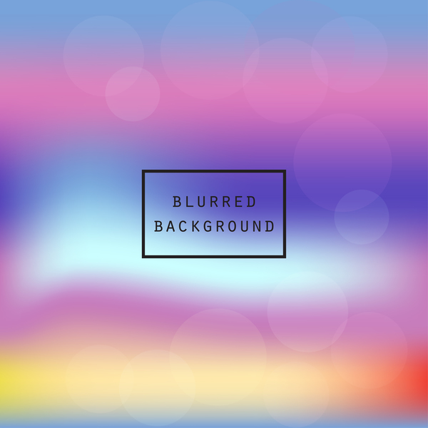 Colorful bokeh background art vector 03