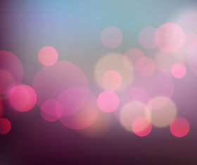 Colorful bokeh background art vector 04