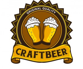 Craft beer vector material