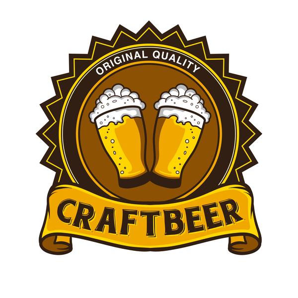 Craft beer vector material