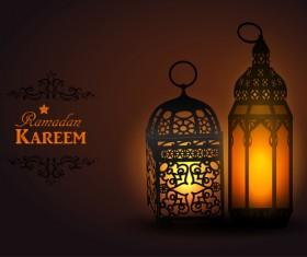 Creative ramadan jareem dark color background vector 09