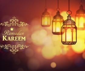 Creative ramadan jareem dark color background vector 12