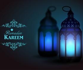Creative ramadan jareem dark color background vector 14