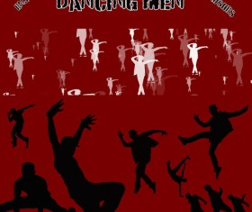 Dancing Men Photoshop Brushes