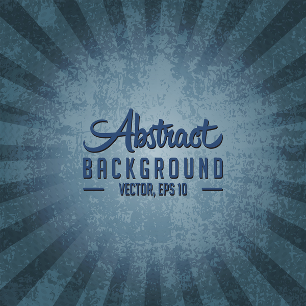 Dark blue grunge background vector