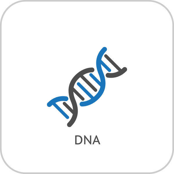 Dna Logo Design Vector