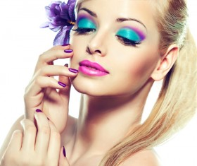 Eye makeup beauty model characters HD picture