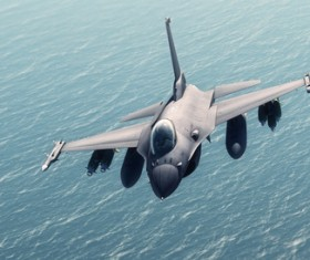 Fighter aircraft Stock Photo 05