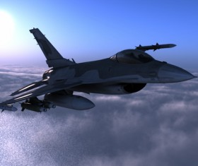 Fighter aircraft Stock Photo 10