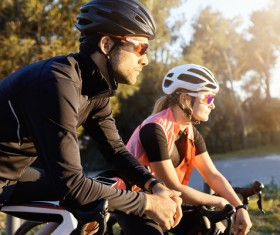 Fitness and active lifestyle cycling Stock Photo 04